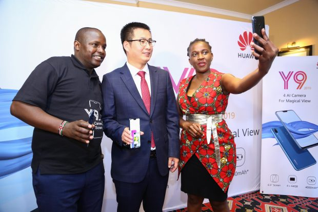 Huawei Y9 2019 launched in Nairobi - BAKE BusinessBAKE Business